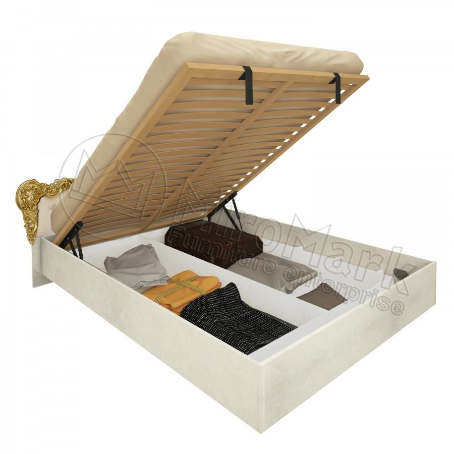 Кровать Виктория 160х200 с подъемником и каркасом Миро-Марк