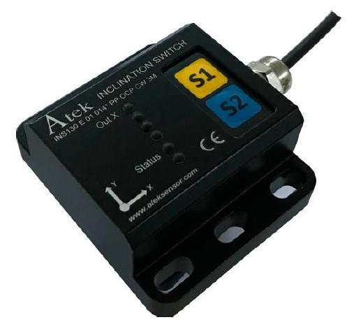 Угловой датчик серии INS 130 с транзисторным или аналоговым входом