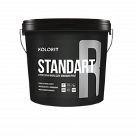 KOLORIT STANDART R Структурная водно-дисперсионная фасадная краска LAP 9 л