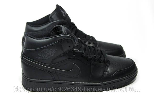 a07d9554ac08 Зимние мужские кроссовки (на меху) Nike Air Jordan 1-067   продажа ...