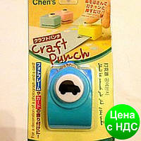 Дырокол фигурный для детского творчества CJ-522 №68 Авто