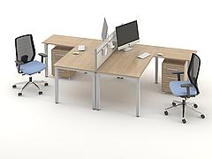 Комплект мебели для персонала серии Озон композиция №2 ТМ MConcept