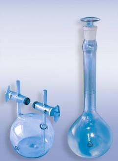 Пикнометр для газів тип ПГ 100 мл, скло, фото 2