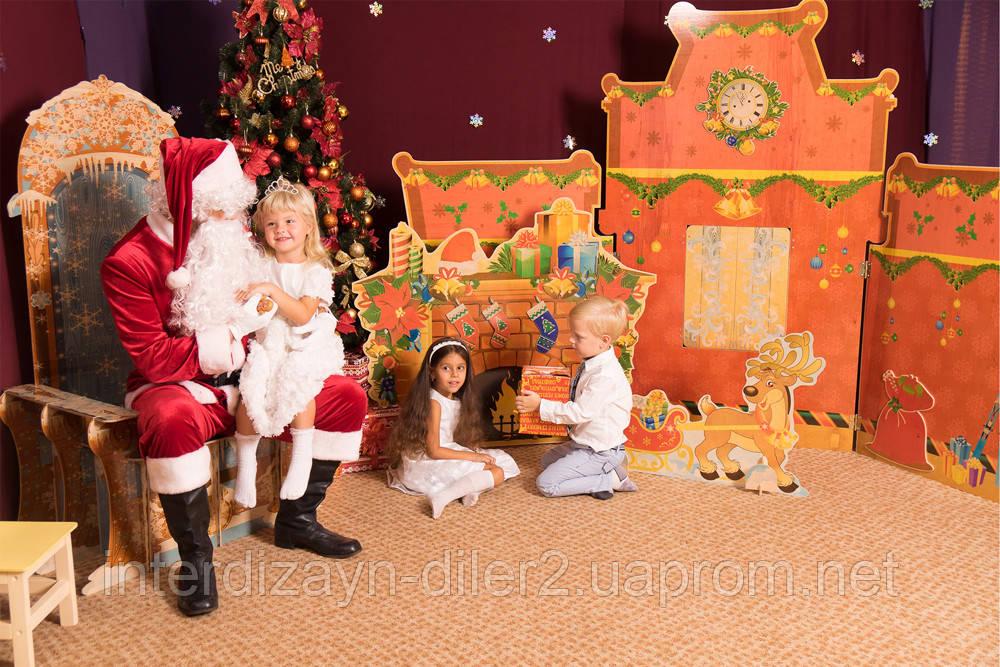Композиция Санта ждет детей