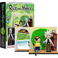 Конструктор McFarlane Rick and Morty Рик и Морти 98 деталей 01CT