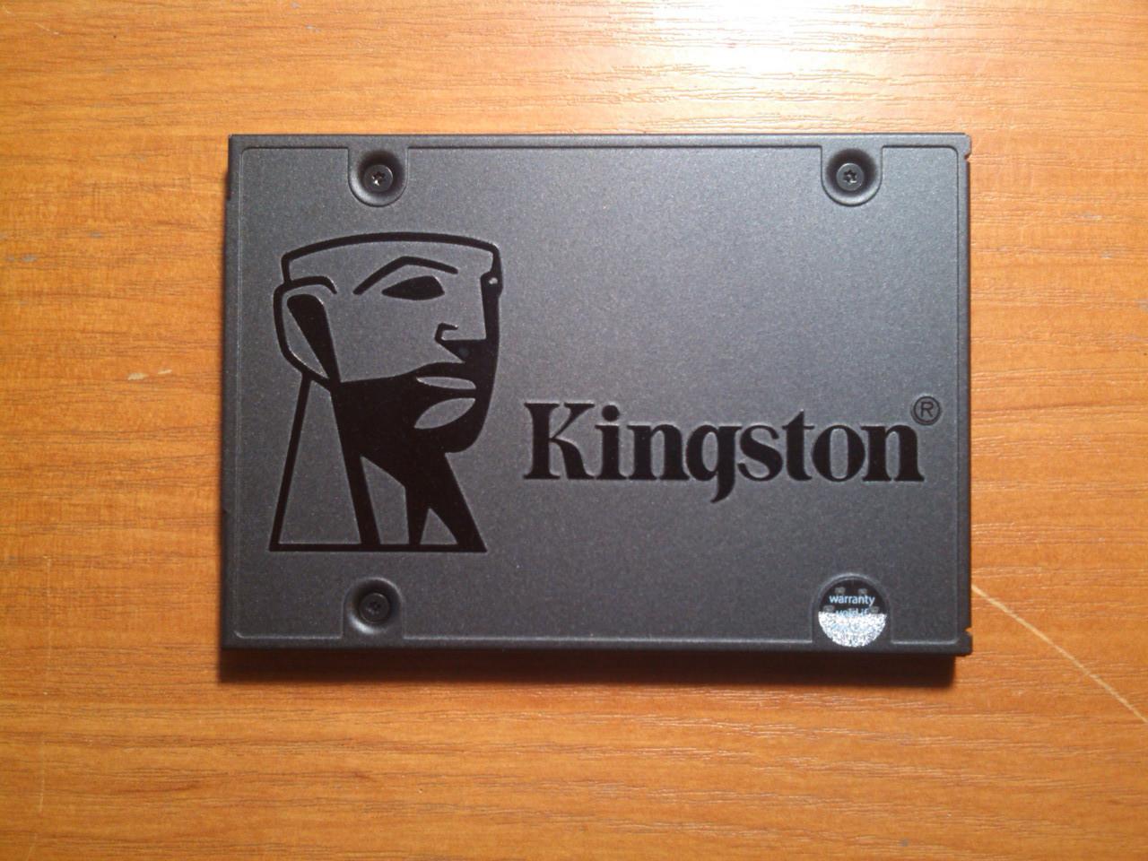 SSD 240GB Kingston A400 TLC SataIII Гарантія!