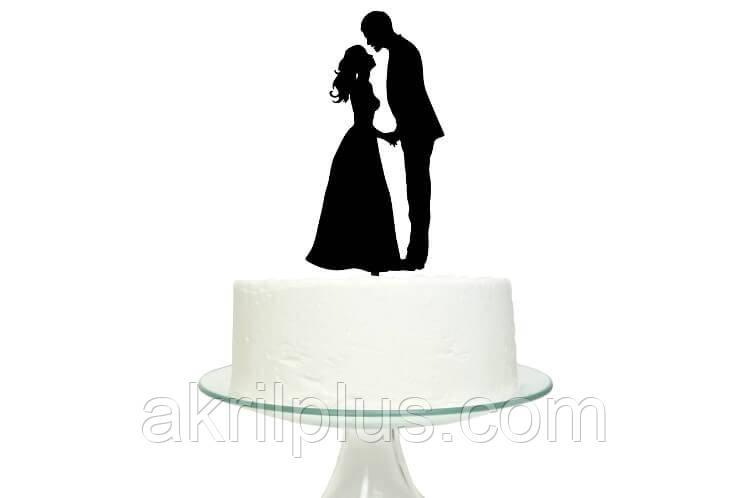 Топпер для торта жених и невеста
