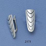 Серьги из серебра