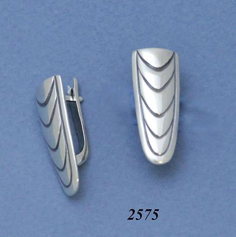 Серьги из серебра, фото 2