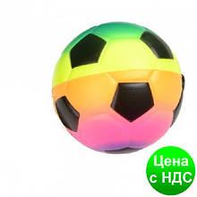 """М'яч-антистрес 116 """"Футбол"""" неон 7.5 см"""