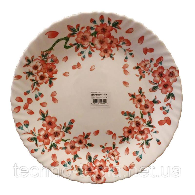 Тарелка обеденная круглая 25 см Sakura Luminarc L4331