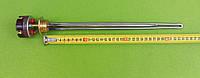 """Тэн нержавейка для алюминиевой батареи 700W (Турция) резьба 1"""" с итальянским термостатом Reco с термозащитой"""