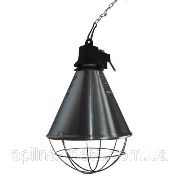 Защитный плафон для инфракрасных ламп с выключателем и кабелем 5 м