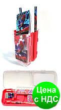 """Органайзер-пенал настільний дитячий P8793 """"Spider Man"""" (7 предметів)"""