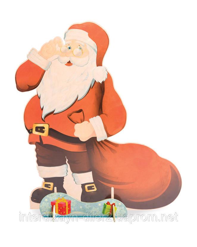 Санта-Клаус (обратная сторона - лесной эльф)
