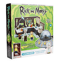 Конструктор McFarlane Rick and Morty Рик и Морти 293 детали 293RMC