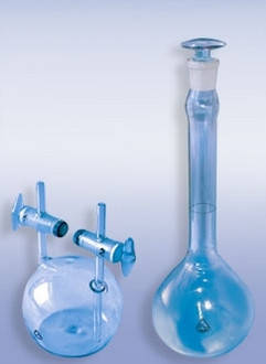 Пикнометр для жидкостей тип ПЖ2 25 мл, стекло, фото 2