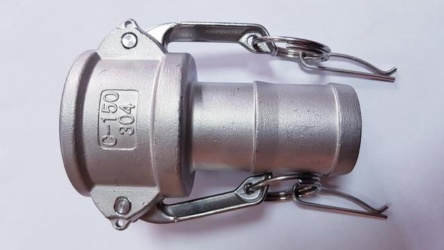 Соединения БРС (быстроразъемные) Camlock (КАМЛОК)