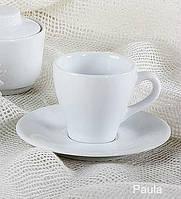 Чашка кофейная с блюдцем Lubiana ПАУЛА 1700/1771