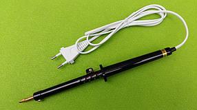 Паяльник бытовой электрический 65Вт / 220В с карбалидовой ручкой, фото 2