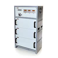 Стабилизатор напряжения трёхфазный РЭТА ННСТ-3х17 кВт SHTEEL 80А