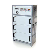 Стабилизатор напряжения трёхфазный РЭТА ННСТ-3х17 кВт SHTEEL 80А, фото 1