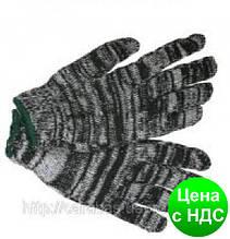 Перчатки №3 х\б серые 450г