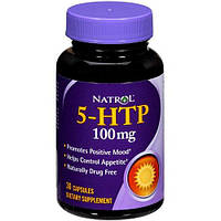 Релаксант Natrol - 5-HTP 100 мг (30 капсул)