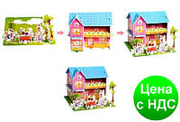 "Пазлы 3D картон ""Домики для куклы"""