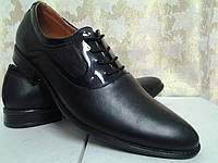 Стильные классические кожаные туфли Madoks