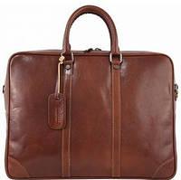 Шикарный женский кожаный деловой портфель Bottega Carele красный