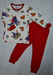 "Пижама для мальчика ""Супермен"" (Интеркидс, Украина)"