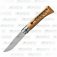 Opinel Tire Bouchon 10 Inox складной нож со штопором (001410)