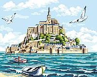 Картина по номерам, Мон-Сен-Мишель, 40*50, в коробке