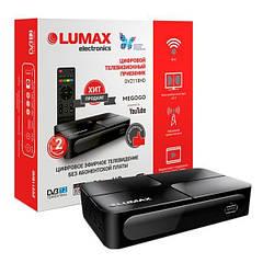 Цифровой ТВ-ресивер T2 Lumax DV2118HD + IPTV + YouTube + MEGOGO