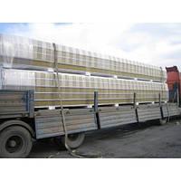 Сендвич-панель стеновая МеталПроектСтрой с наполнителем из пенопласта 100 мм  металл 0,45 мм