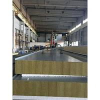 Сендвич-панель стеновая МеталПроектСтрой с сердечником из пенополистирола 100 мм металл 0,45 мм