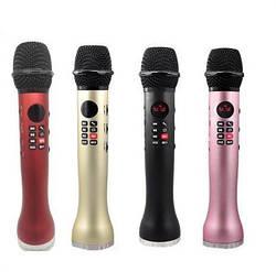 Беспроводной караоке микрофон L-598