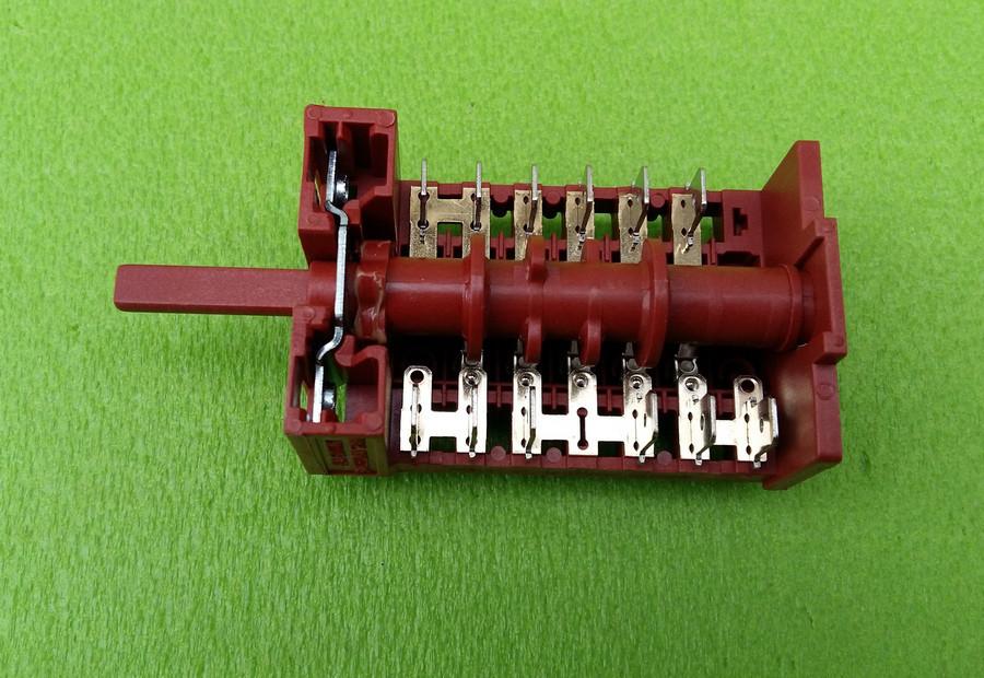 Переключатель пятипозиционный 850515 / 16А / 250V / Т150 для электроплит, электродуховок    7LA-GOTTAK, Spain