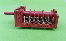 Переключатель пятипозиционный 850515 / 16А / 250V / Т150 для электроплит, электродуховок    7LA-GOTTAK, Spain, фото 2