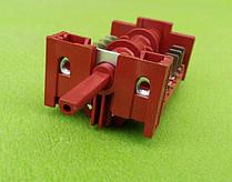 Переключатель пятипозиционный 850515 / 16А / 250V / Т150 для электроплит, электродуховок    7LA-GOTTAK, Spain, фото 3