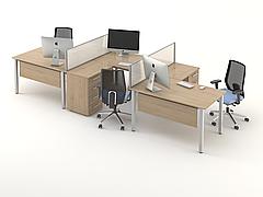 Комплект мебели для персонала серии Озон композиция №3 ТМ MConcept