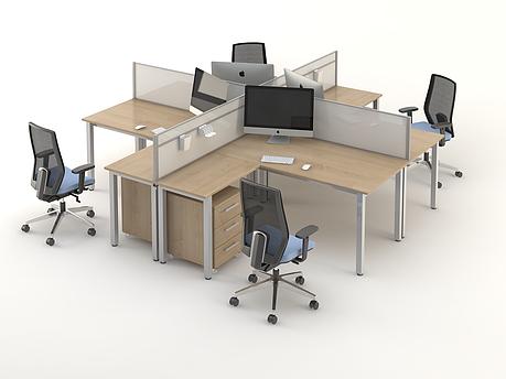 Комплект мебели для персонала серии Озон композиция №4 ТМ MConcept, фото 2