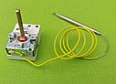 Термостат капиллярный METALFLEX KT-165/ T=7-80°C / 16А / 250V / T85 / Hст=40мм / L=70см (2 контакта)   Италия, фото 4
