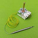 Термостат капиллярный METALFLEX KT-165/ T=7-80°C / 16А / 250V / T85 / Hст=40мм / L=70см (2 контакта)   Италия, фото 5