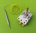 Термостат капиллярный METALFLEX KT-165/ T=7-80°C / 16А / 250V / T85 / Hст=40мм / L=70см (2 контакта)   Италия, фото 6