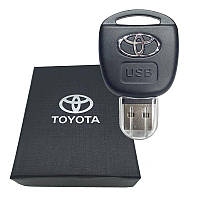 USB флешка с логотипом Тойота (Toyota) в подарочной коробке 32 гБ., фото 1