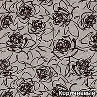 Ткань мебельная обивочная Флавер корич