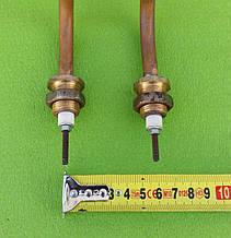 Тэн водяной дистилляторный 2000W (ДВАЖДЫ ГНУТЫЙ) / 220V / МЕДНЫЙ (на латунных штуцерах Ø18мм)   Tenko, Украина, фото 2