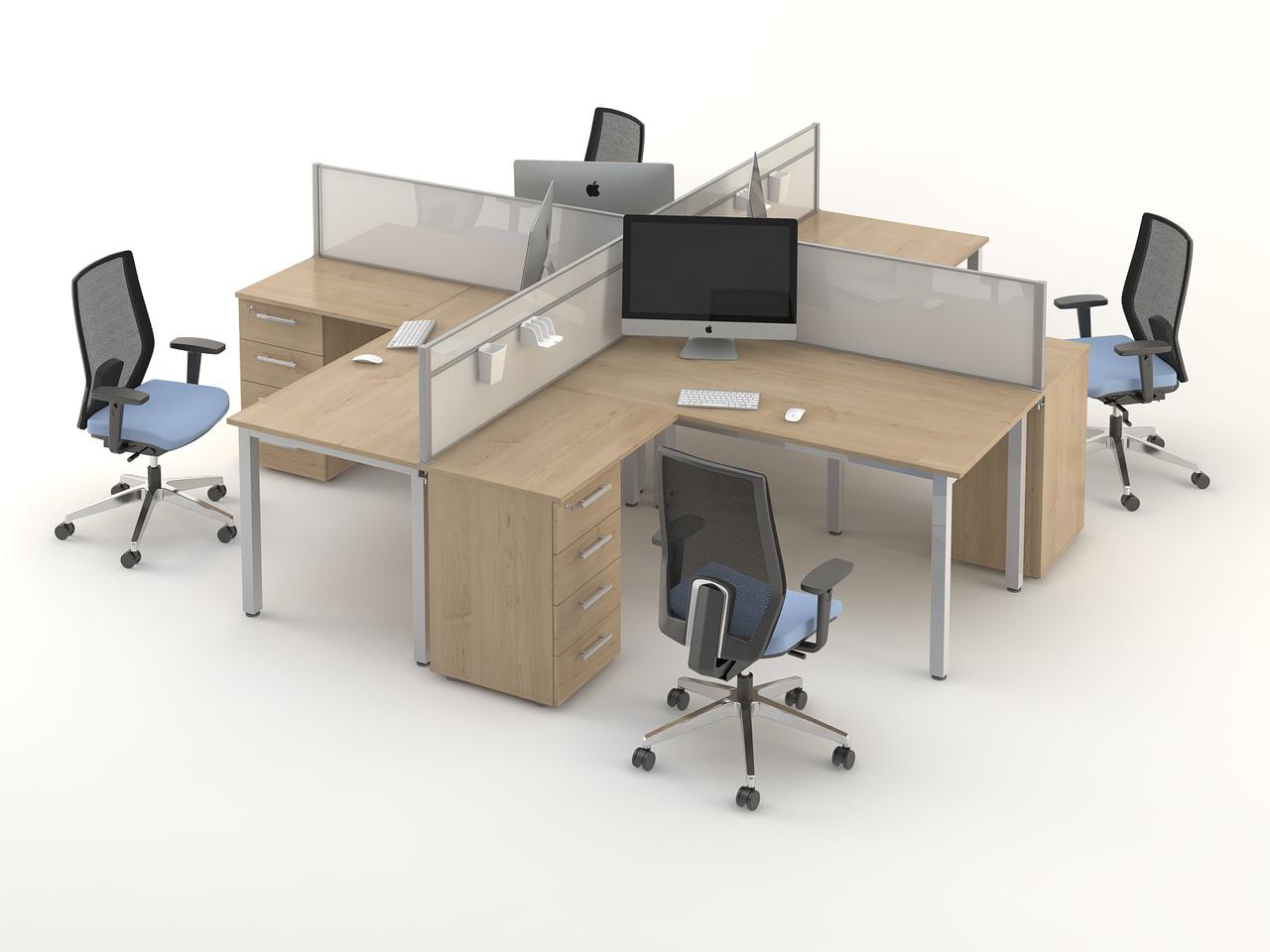 Комплект мебели для персонала серии Озон композиция №5 ТМ MConcept